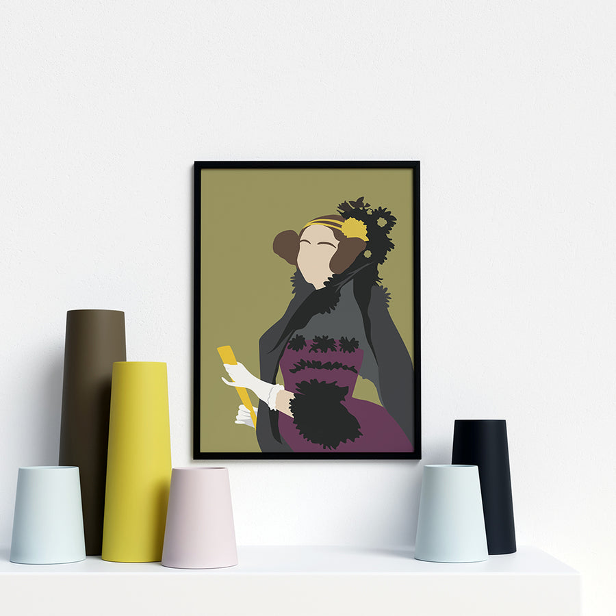 Ada Lovelace Portrait Poster