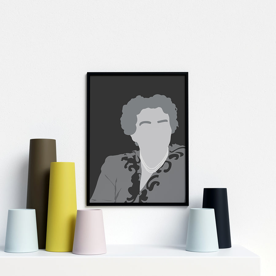 Eleanor Roosevelt Portrait Poster