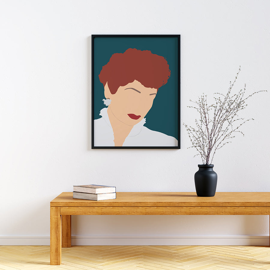 Lucille Ball Feminist Icon Print