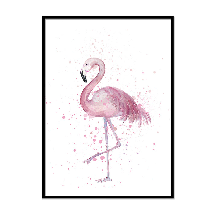 Flamingo Wall Art | Printers Mews