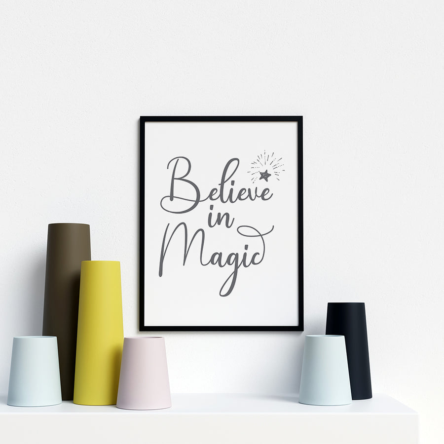 Believe In Magic - Printers Mews