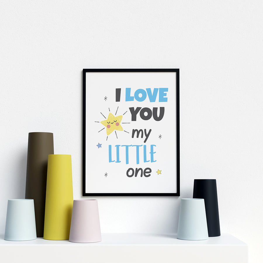 I Love You My Little One - Printers Mews