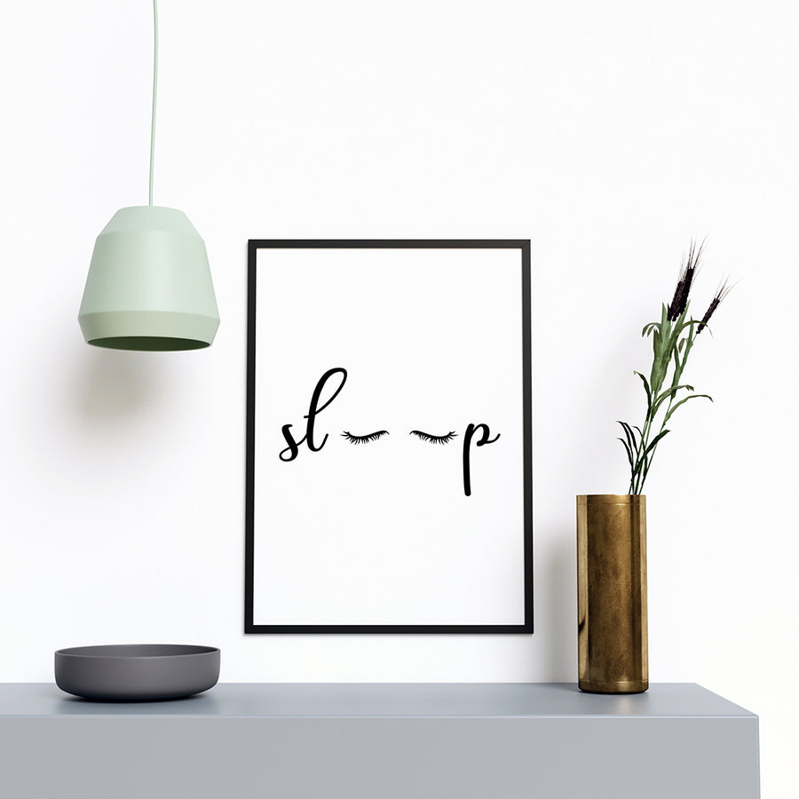 Sleep Modern Stylish Artwork