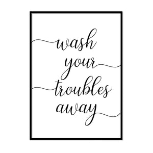 Wash your troubles away - Printers Mews