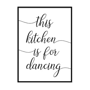 This Kitchen is for Dancing - Printers Mews