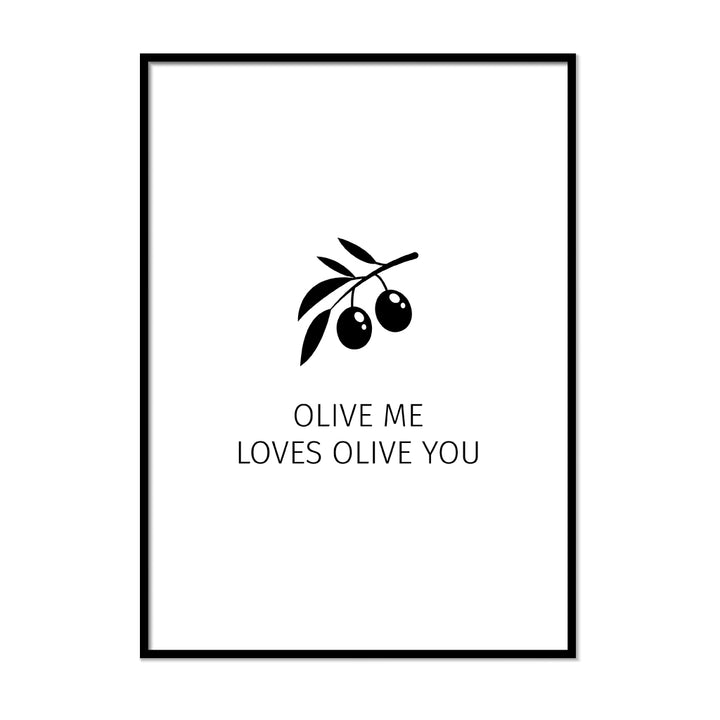 Olive Me Loves Olive You - Printers Mews