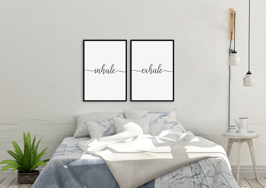 Inhale | Exhale - Printers Mews