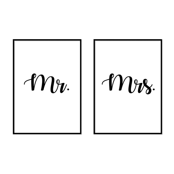 Mr. | Mrs. - Printers Mews