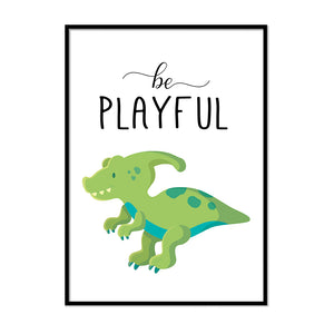 Be Playfull Dinosaur - Printers Mews