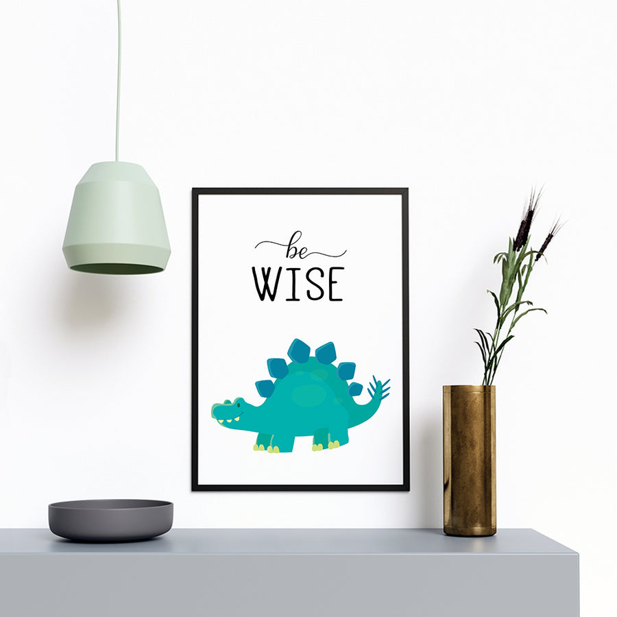 Be Wise Dinosaur - Printers Mews
