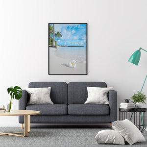 Flower On The Beach Palm Trees - Printers Mews