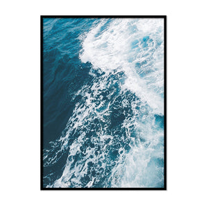 Ocean Waves Swell - Printers Mews