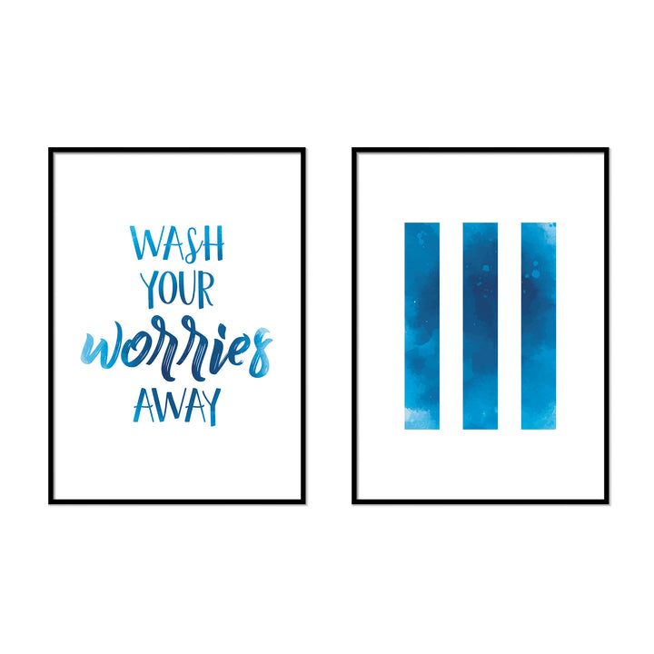 Wash Your Worries Away | Lines - Printers Mews