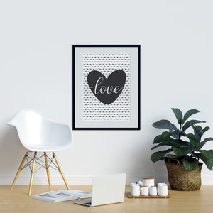 Love Heart Polka Dots - Printers Mews