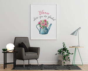 Bloom Where You Are Planted - Printers Mews