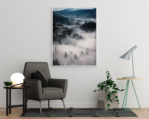 Misty Forest Poster - Printers Mews