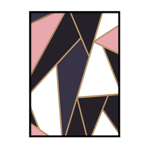 Irregular Triangle Shapes - Printers Mews