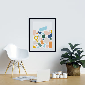 Irregular Shape Background - Printers Mews