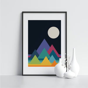 Mountains - Printers Mews