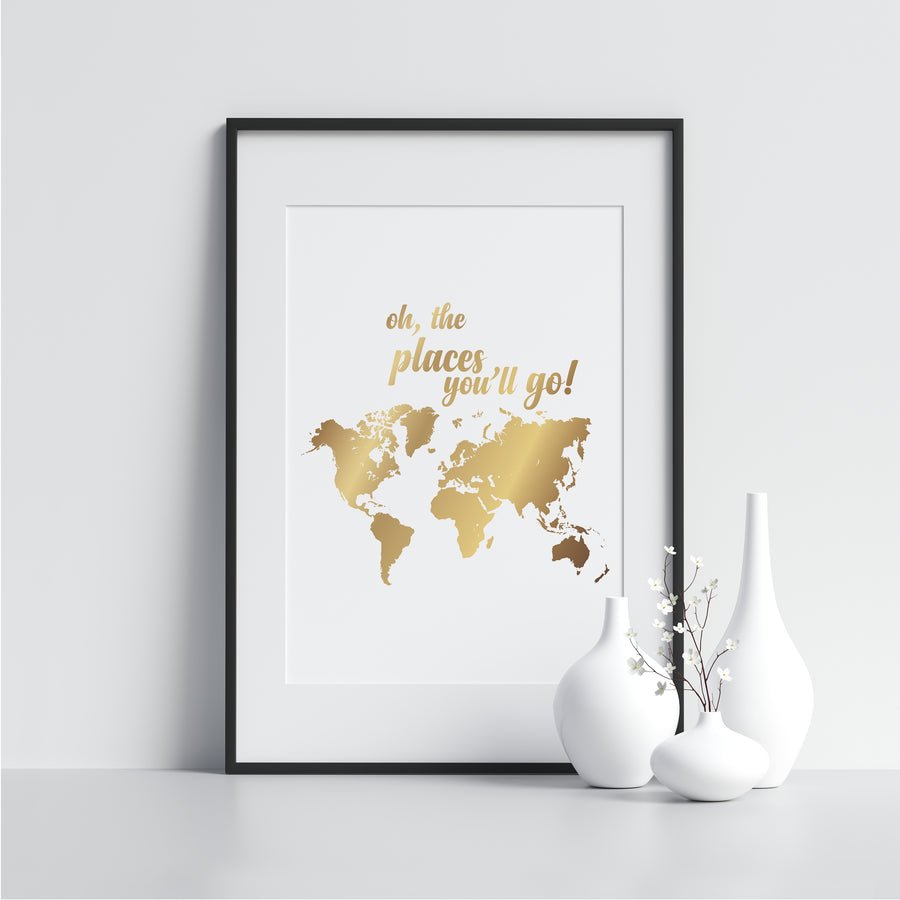 Oh, the Places You'll Go! - Printers Mews