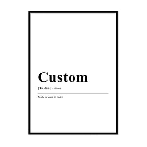 Custom Definition Print | Printers Mews