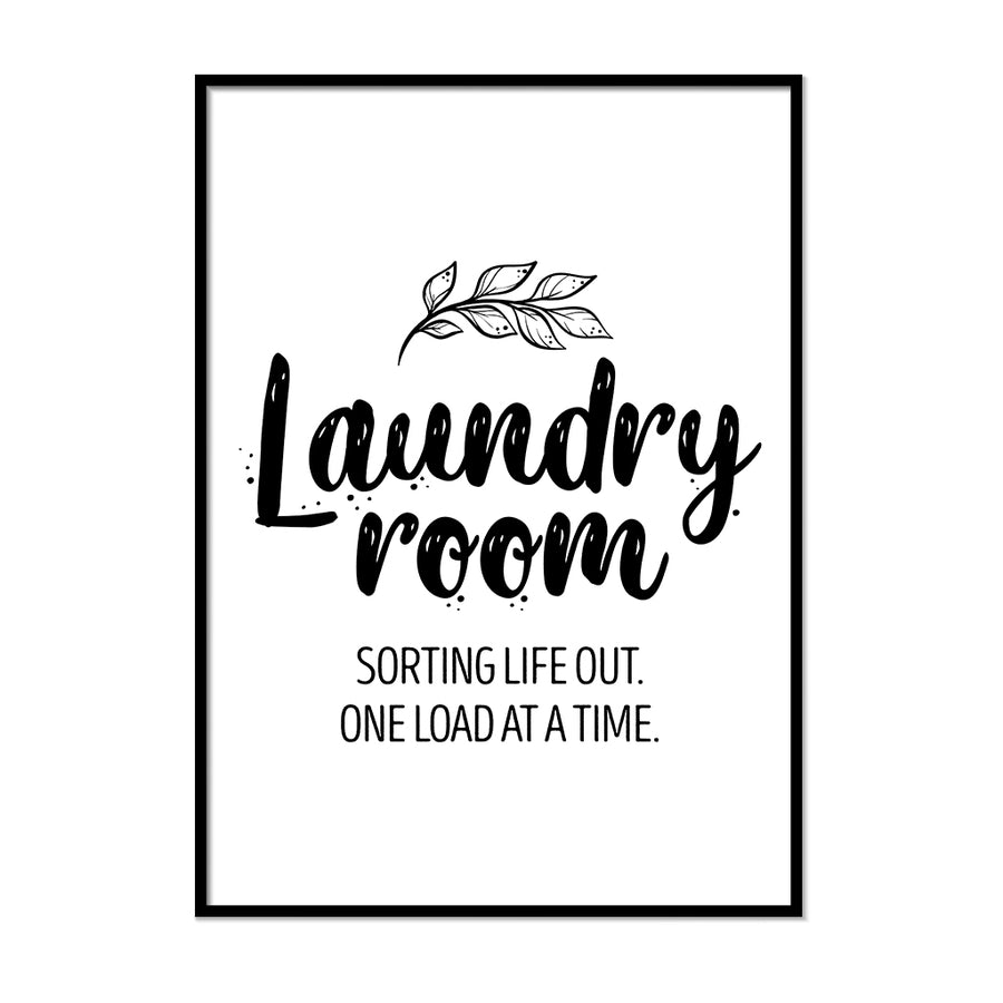Laundry Room Wall Art | Printers Mews