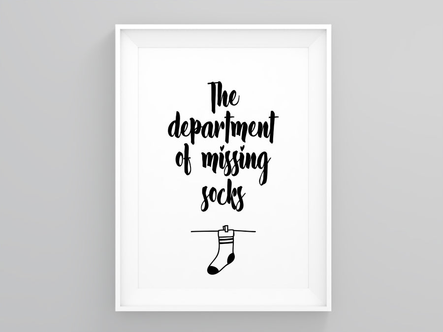 The Department of Missing Socks