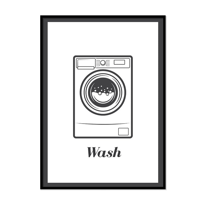 Wash Laundry Room Wall Art | Printers Mews