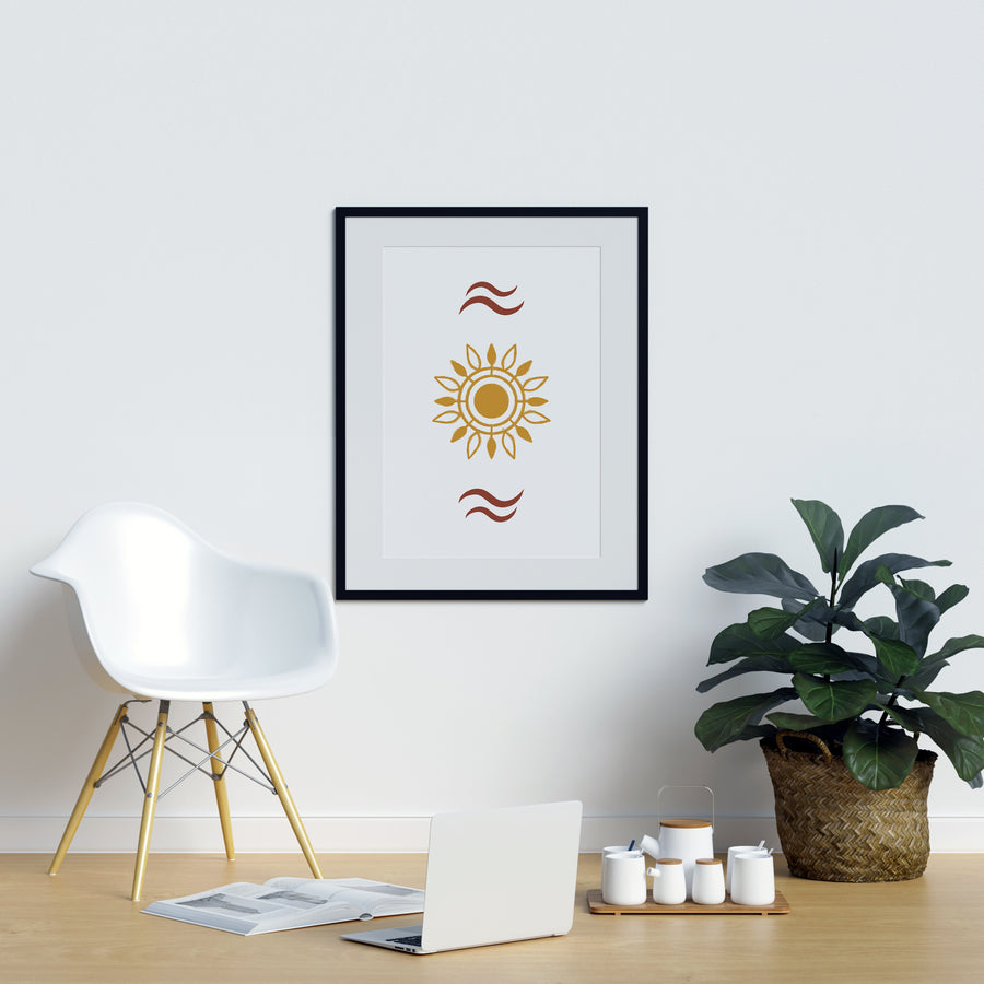 Sun Kissed Neutral Colors Wall Art | Printers Mews