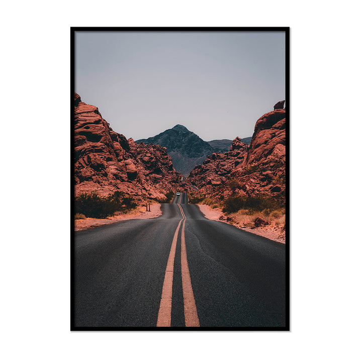 Burnt Orange Road Terracotta Wall Decor | Printers Mews