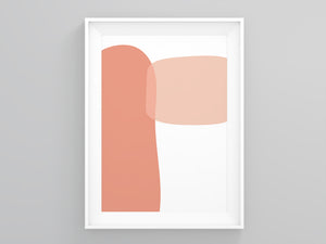 Abstract Wobble  Burnt Orange | Printers Mews