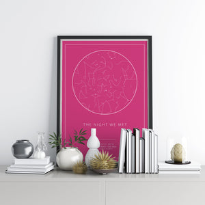 Personalised Star Maps - Printers Mews