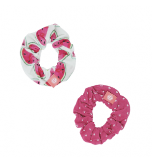 Scrunchie Set 2PK - Cool Melon