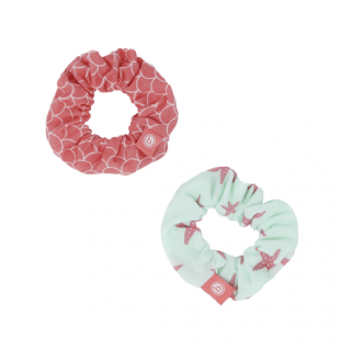 Scrunchie Set 2PK - Coral Mermaid