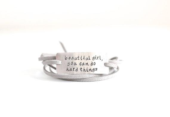 Do Hard Things Bracelet