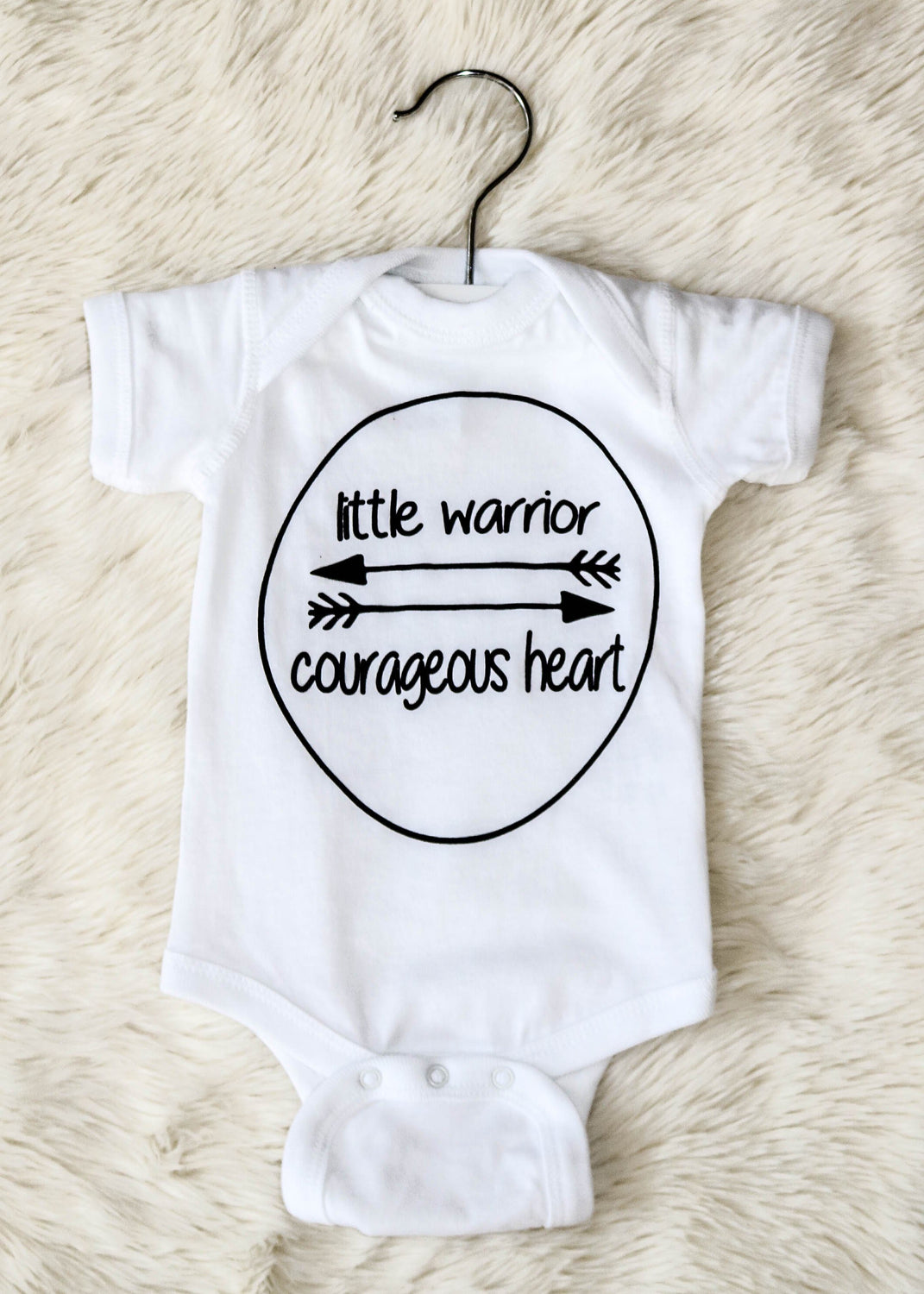 Little Baby Warrior Onesie