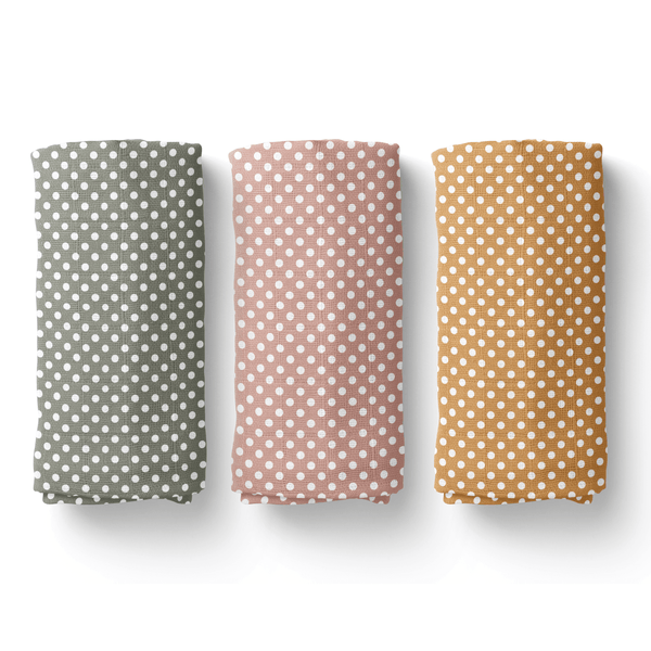 Polka Dot Swaddle