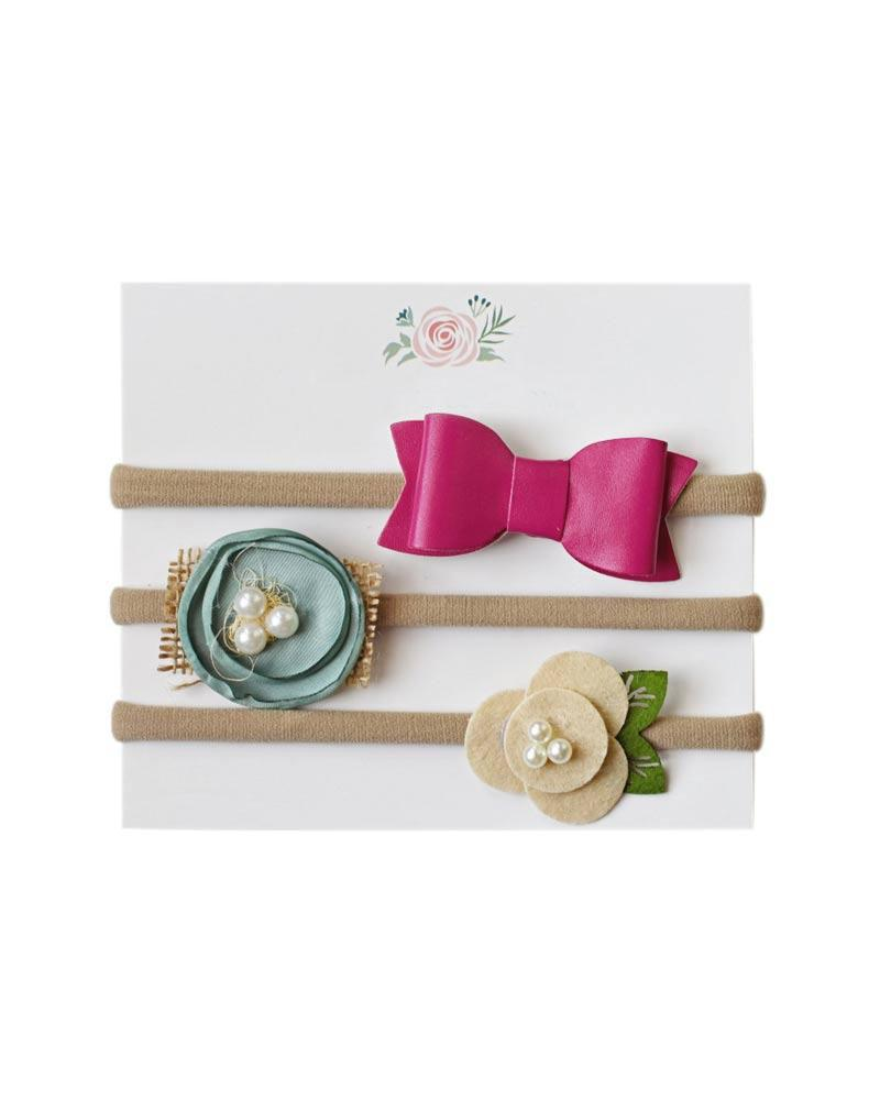 Headband Bow Set - Spring Set I