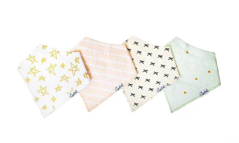 Bandana Bib Set - Paris