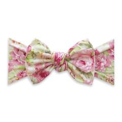 Baby Bling Printed Bow Knot - Bed of Roses