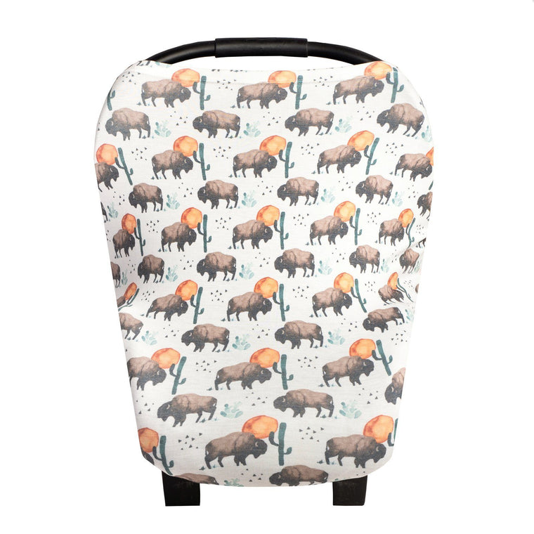 Car Seat Multi Use Cover - Bison