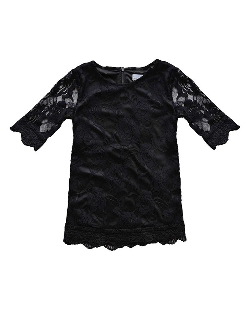 Dress Vintage Lace - Black