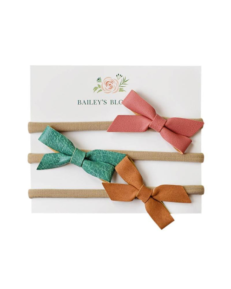 Headband Bow Set - Boho
