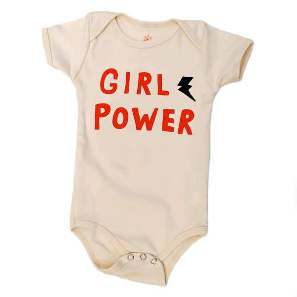 Organic Cotton Onesie - Girl Power