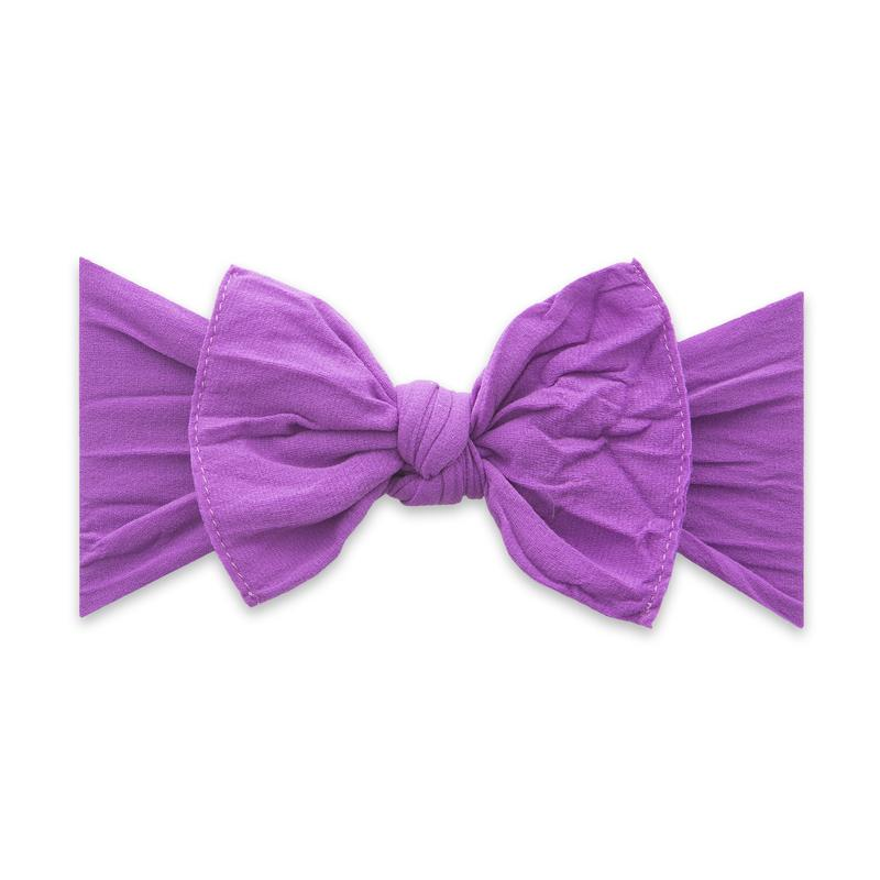 Baby Bling Bow Knot - Grape