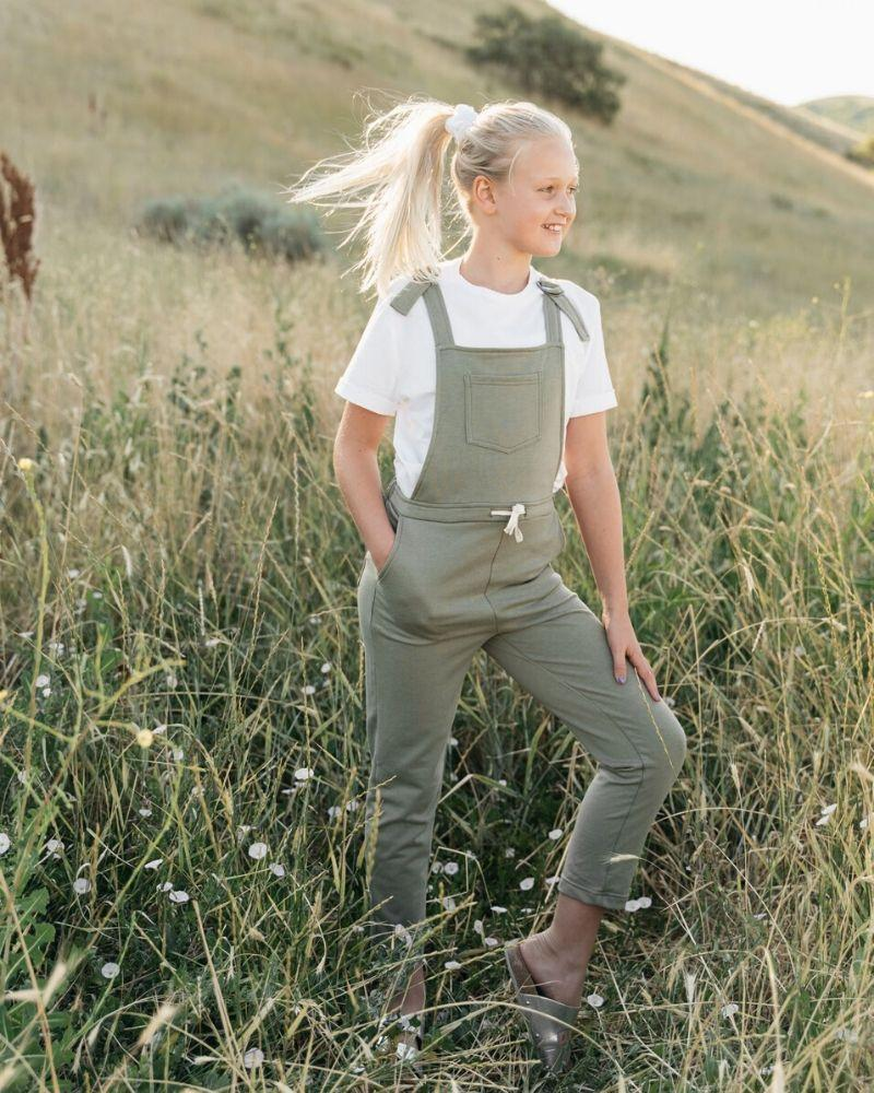 Overall Jumpsuit - Hunter Green
