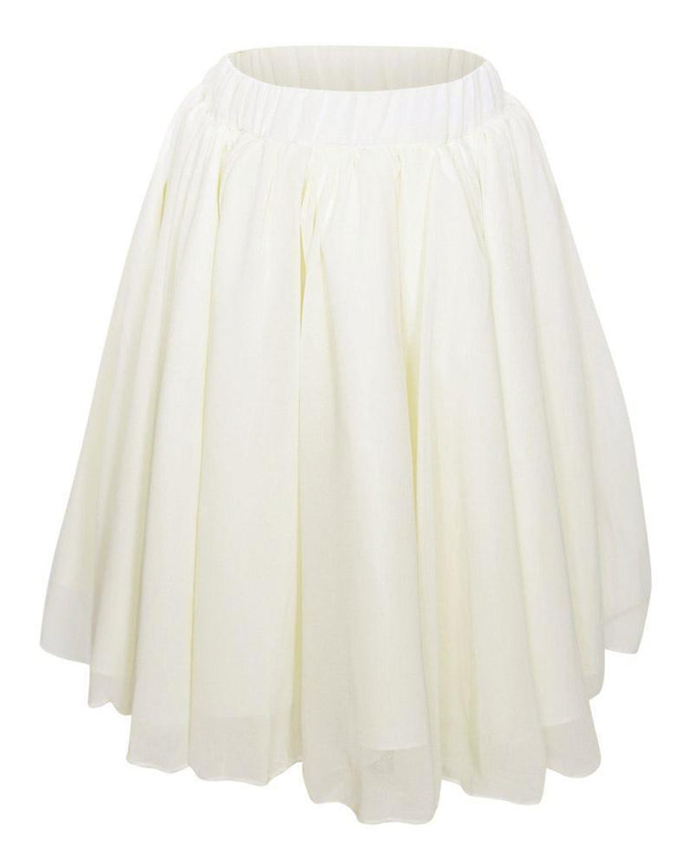 Maxi Skirt for Babies and Toddlers - Ivory