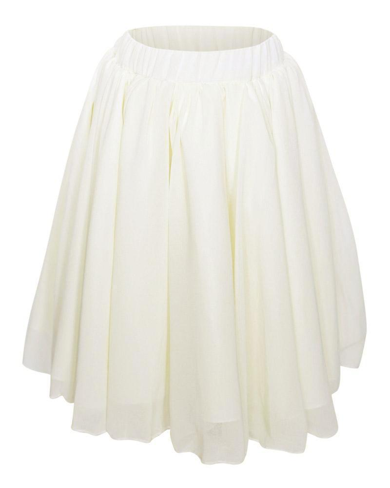 Toddler Maxi Skirt - Ivory