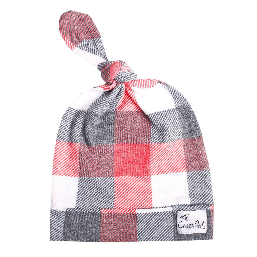 Top Knot Beanie for Infants - Jack