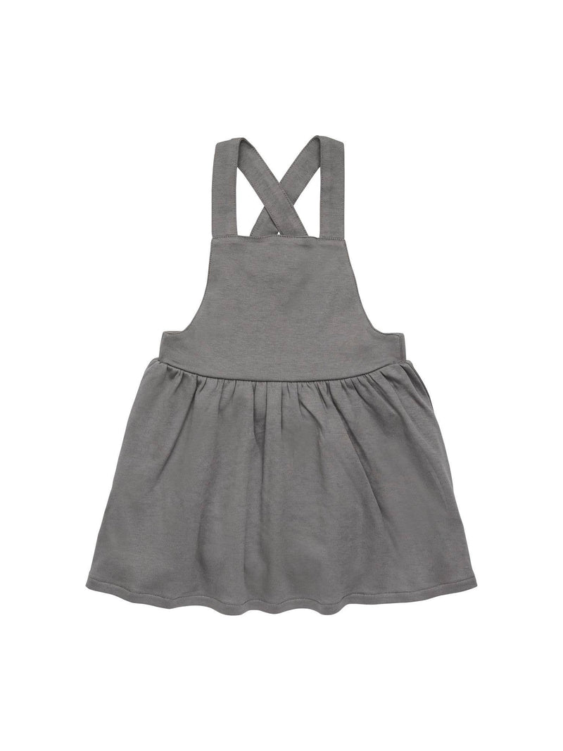 Girls Jumper Dress - Pewter